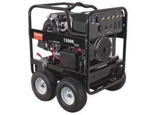 DAYTON 6FYA4 12,000 Watt Portable Generator, 13.2 gal, Gasoline