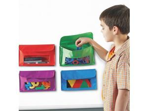 Learning Resources Magnetic Storage Pockets Set Of 4 6447