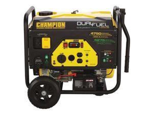 CHAMPION POWER EQUIPMENT 76533 3800W Dual Fuel Portable Generator 120VAC