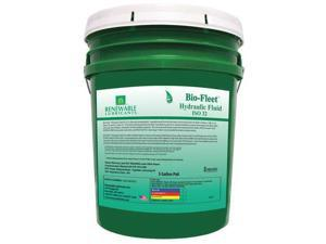 RENEWABLE LUBRICANTS 80824 Biodegradable Hydraulic Oil, 5 gal., ISO 32