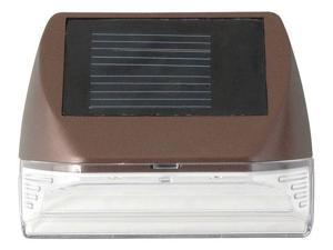 MOONRAYS 95028 LED Mini Deck Light,Outdoor,Solar,Bronze