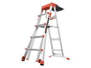 15125-001 Select Step Model 5-ft - 8-ft Ladder with AirDeck Utility Tray