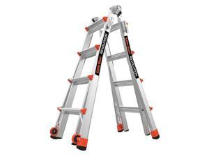 Multipurpose Ladder,15 ft.,IA,Aluminum LITTLE GIANT 12017