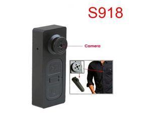 Mini Hidden Camera S918 HD Button DV Video Recorder Spy Camera with Vibration function
