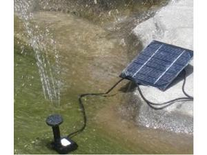 Solar Water Pump for Fountain Solar Brushless Pump For Water Cycle/Pond Fountain/Rockery Fountain