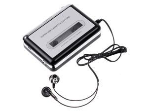 New Portable Tape to PC USB Cassette-to-MP3 Converter Capture Audio Music Player in Stock