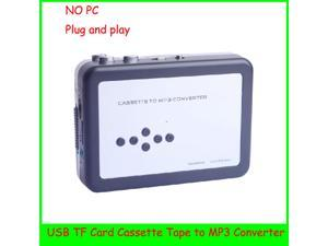 EC007D Plug and Play USB Cassette Player and Converter the Old Cassette Tapes to MP3 Converter Capture Directly to Micro SD Card