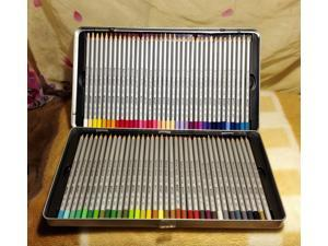 Marco Raffine 72 Color Pencils lapis De Cor Profissional Iron Boxed School Pencil for Drawing Sketch