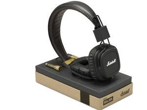 3.5mm Marshall Deep Bass Noise Isolating Headset MAJOR Headphone with Mic&Remote Stereo HiFi Monitor Headphone for Mobilephone