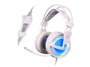 SADES A6 USB 7.1 Surround Sound Stereo Gaming Headset Headband Over-ear Headphone Audifonos Fone with Mic LED Light for PC Gamer
