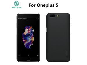 NILLKIN Super Frosted Shield Hard Back Cover Case Protector Plastic Case for Oneplus 5 One Plus 5