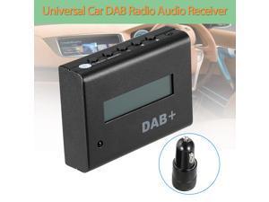 Car-detector Universal 12V Car Digital Radio DAB+ Audio Receiver with Car Charger Remote Control