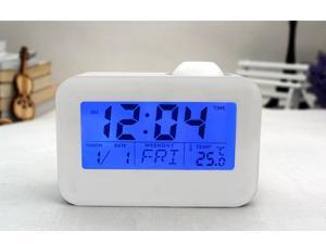 Projection Alarm Clock Acoustic Control Electronic Watch Weather Station Table Clock
