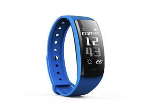 QS90 Bluetooth 4.0 Smart Watch Multiple Sports Stopwatch Modes Blood Pressure Wristband for Android IOS