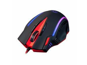 Redragon M902 SAMSARA Gaming Mouse PC 16400DPI 15 Function Buttons Trendy Backlight Ergonomic Design USB Wired for Desktop Programmable Mouse