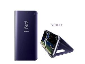 Luxury 360 Leather Flip View Smart Mirror Case For Samsung Galaxy S9 Phone Cover Case