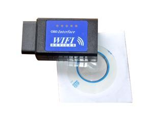 Car Vehicle ELM327 OBDII WiFi Diagnostic Wireless Scanner For Apple iPhone Touch