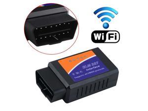 Vehicle Diagnostic Tool OBD2 OBD-II WIFI ELM327 Wireless OBD2 OBDII Auto Scanner Adapter Scan Tool for iPhone iPad iPod