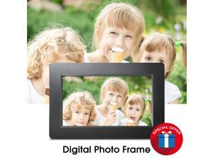 """SUNGALE DPF710 - 7 INCH DIGITAL PHOTO FRAME WITH 0.3"""" ULTRA-SLIM DESIGN, HIGH DEFINITION WIDESCREEN LCD SCREEN"""