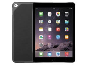 Apple iPad Air 2 - 16GB Tablet, Wi-Fi, 9.7-Inch, Space Gray (MGL12LL/A) + Logitech Hinge Flex Case