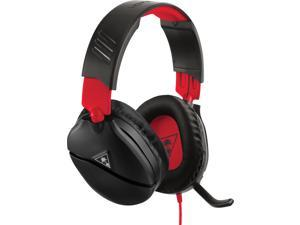 Turtle Beach - Recon 70 Wired Gaming Headset For Nintendo Switch, Xbox One, Xbox Series X S, PS4, & PS5 - Black/Red
