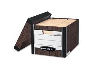 Bankers Box R-Kive - Letter/Legal, Woodgrain