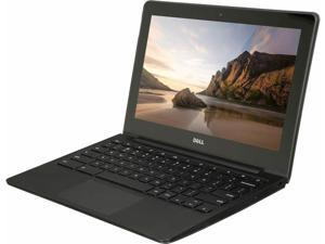 """Dell Chromebook 11"""" 4GB RAM, 16GB eMMC Intel Celeron N2955U, 1.4GHz - 11A35-11-BTX - Grade C"""