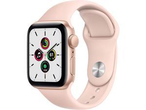 Apple Watch SE 40mm Gold Aluminum Case with Pink Sand Sport Band MYDN2LL/A