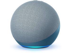 Amazon Smart Speaker Echo 4th Generation with premium sound, smart home hub, and Alexa - Twilight Blue L4S3RE 2020