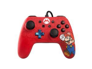 PowerA Wired Mario Controller for Nintendo Switch - Red 1506261-01