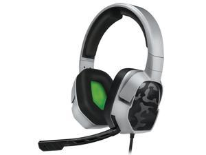 PDP Gaming LVL3 Wired Headset With Noise Cancelling Microphone: Grey Camo - Xbox One 048-041-NA-YCAM