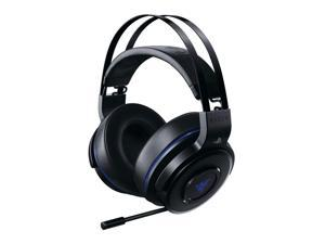 Razer Thresher - Lag-Free Wireless Connection - Retractable Digital Microphone - Gaming Headset Works with PC & PS4 RZ04-02580100-R3U1
