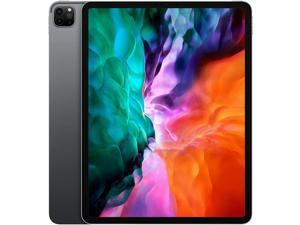 """Apple iPad Pro 12.9"""" 4th Generation 256GB 6GB RAM Wi-Fi - Space Gray 2020 MXAT2LL/A"""