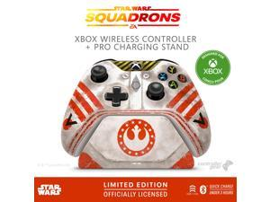 Controller Gear Controller Gear Star Wars: Squadrons, Wireless Controller and Pro Charging Stand Bundle for Xbox - Xbox One, Limited Edition ELDSXBWCR-0MNWR