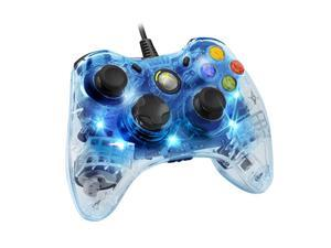 PDP Afterglow Wired Game Controller for Microsoft Xbox 360 - Blue - 3702BL
