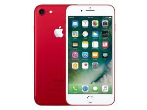 Apple iPhone 7, GSM Unlocked, 128GB - Red