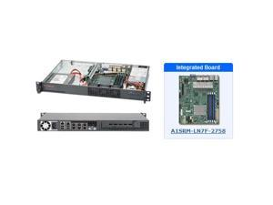 Supermicro SYS-5018A-TN7B 1U Server with A1SRM-LN7F-2758 Motherboard