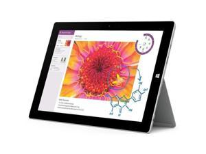 "Microsoft Surface Pro 3 5340965 Intel Core i5 4th Gen 4300U (1.90 GHz) 8 GB Memory 256 GB SSD Intel HD Graphics 4400 12"" Touchscreen 2160 x 1440 Detachable 2-in-1 Laptop Windows 10 Pro 64-bit"