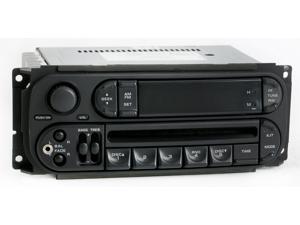 Dodge Caravan Radio 2002 2003 2004 AM FM CD Upgraded w IPOD Auxiliary Input RBK