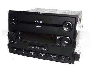 Ford Five Hundred Montego 2005 AM FM 6 Disc mp3 CD Radio - 5G1T-18C815-EB