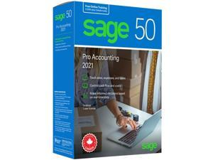Sage 50 Pro Accounting 2021 - Retail Box