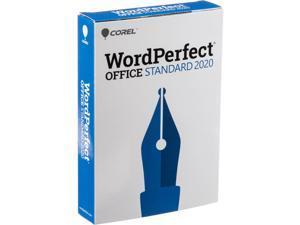 Corel WordPerfect Office Standard 2020 - Retail Box