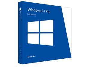 Microsoft Windows 8.1 Pro 64-bit, OEM (French)