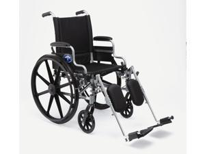 K4 Basic Lightweight Wheelchairs, WHEELCHAIR, K4 BASIC, 20IN DESK ARM, ELR - 1 EA