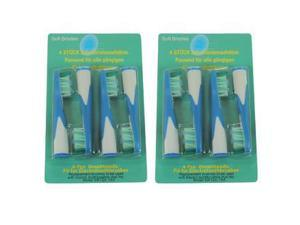 Replacement Toothbrush Brush Heads for Braun Oral-b Sonic Complete 8-Pack