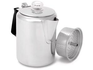 GSI OUTDOORS GLACIER STAINLESS PERCOLATOR (9 CUP)