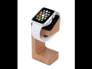 Xtenzi Wood Docking Station Cradle Hold for Apple Watch (Oak)