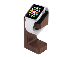 Xtenzi Wood Docking Station Cradle Hold for Apple Watch (Coffe Brown)