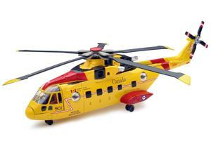 Canadian Search & Rescue Helicopter EH101 1:72 - Vehicle Toy by New Ray Toys