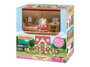 Red Roof Cozy Cottage Starter Home Imaginative Play Sets Calico Critters CC1798